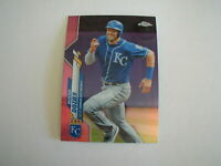 2020 TOPPS CHROME HUNTER DOZIER PINK REFRACTOR CARD #63 KANSAS CITY ROYALS
