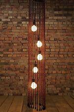 Anni '60 Lampada Soffitto Vintage 60s Mid Century TEMDE di perline Modello 88