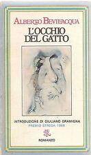 L'OCCHIO DEL GATTO - ALBERTO BEVILACQUA - ED. BUR