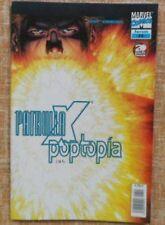 La Patrulla X, nº 74, 75 y 76, Poptopía, 2002, Forum, Marvel Comics, Joe Casey