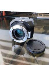 Blackmagic Design Micro Studio Camera 4K MFT Mount - Good ++ w/ Battery 2.3
