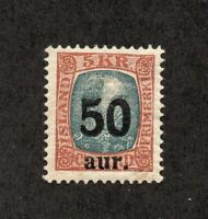 Iceland - Sc# 138 MVLH ( aged gum appears NH)/ see images   -     Lot 0520234