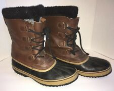 Sorel 1964 PAC T Waterproof Boots US Men's Size 13 Brown