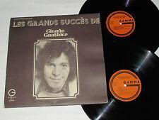 CLAUDE GAUTHIER Les Grands Succes de 2-LP Gamma Records Canada Vinyl VG/VG/VG