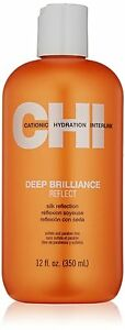 Brand New CHI Deep Brilliance Reflect Silk Reflection 12 oz Bottle