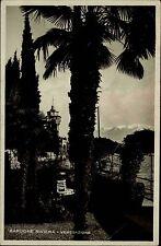 1932 Italia Italien GARDONE Riviera Vegetazione AK Cartolina Italiana Italy