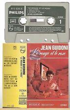 JEAN GUIDONI cassette K7 tape LE ROUGE ET LE ROSE