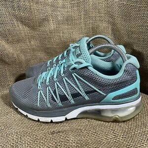 Nike Airmax Excellerate 3 Running Training Gym Shoe Women's Size 8 Blue Gray