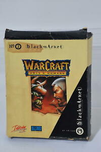 Warcraft Orcs & / and Humans PC Box Game Rare Original Blizzard Interplay WoW