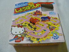 VINTAGE BOXED HELLO KITTY PUZZLE 1987 SANRIO FIRE TRUCK JAPAN IMPORT COMPLETE >>