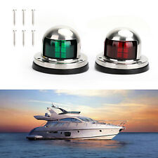 XL Size Boat Bow LED Lighting RED /& GREEN Navigation Kit
