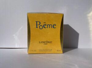 LANCÔME POÊME eau de parfum 50ml new spray vintage atomiseur
