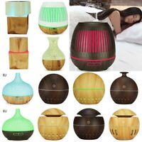 Air Aromatherapy Humidifier Mist Essential Oil Purifier Aroma Diffuser LED Light