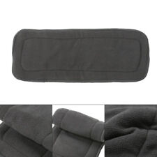 1PC 4 Couches Réutilisables Bamboo Charcoal Insert Baby Cloth Diaper Nappy Inserts Nouveau