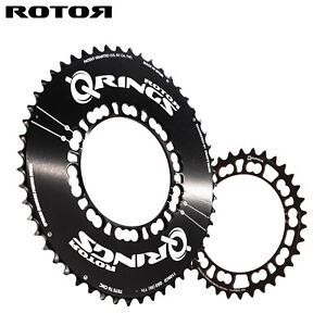 ROTOR Qring Oval Aero Chainring SET Road 110BCDx5 - 50,52T / 34,36,39T