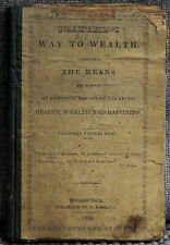 Franklin's Way to Wealth - The Art of Money Getting - Rede 1834