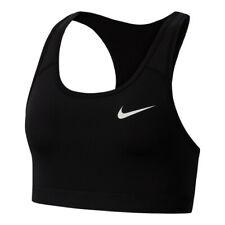 Nike Sports Bra Compression Dri Fit Medium Support Womens Swoosh Bras Gym