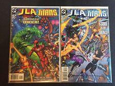 JLA Titans #1 & 3 Signed SS DC Comics Combine Shipping