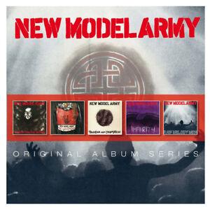 New Model Army : Original Album Series CD 5 discs (2014) ***NEW*** Amazing Value