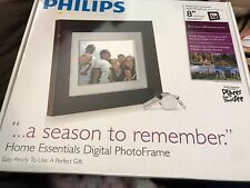 "Philips Home Essentials Digital Photo Frame 8"" LCD Panel SPF3408T/G7"