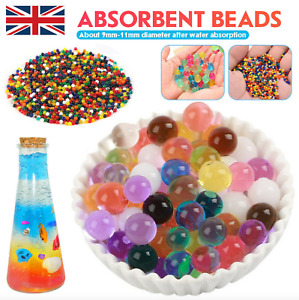 50000 Orbeez Water Aqua Soil Crystal Bio Gel Balls Beads Decoration Vase Filler