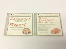 2 Black Pearl Schubert Symphony 8 B Minor Mozart Symphony 29 CDs Beautiful Music