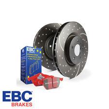 EBC Brakes Front Brake Disc & Pad Kit Audi S3 8P 2.0 TFSI Quattro - PD12KF022