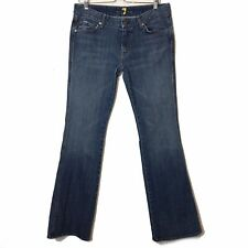 7 For All Mankind Womens Size 32 Bootcut Studded A Pocket Jeans