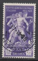 ITALY - ERITREA Pro Istituto Agricolo 2,55 Lire Sassone n.177  cv 80$ used