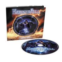 HAMMERFALL - THRESHOLD DIGIPAK CD Incl. MEDIAPLAYER + VIDEOCLIP - VGC