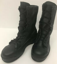 Wellco Safety Flight Deck Combat Boots Size 2.5 Wide Steel Toe