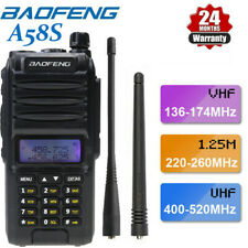 Walkie Talkie Baofeng Bf-A58S 5W Uhf Vhf 128Ch Portable Two Way Radio Long Range