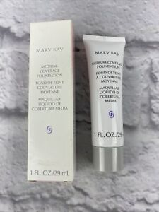 Mary Kay Medium Coverage Foundation Beige 302 New 042003 Normal To Oily Rare