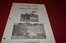 New Holland Forage Harvesters For 1975 Sale Training Manual Manual DCPA5