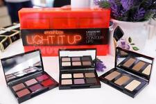 Smashbox LIGHT IT UP 3 Palette Set Eyes Contour & Lips Brand New in Box $82 Val