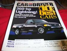Car and Driver Magazine 1/1999 Ford SVT