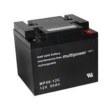 Pb 12V Akku bgl. WP22NF-55 WPX200-12 Tev12500 WP50-12C ELB-1250 Batterie Accu