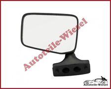 Seitenspiegel Links Flach Man. Schwarz für FIAT 126P 09.72-09.00
