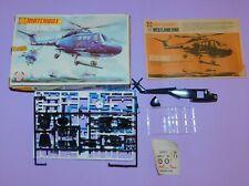 * 1974 * MATCHBOX * PK-10P * WESTLAND LYNX HELICOPTER THREE COLOUR KIT *