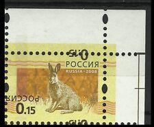 Russie Russia Lievre Hares Jackrabbits Hasen ** 2008 Erreur Surch Error Fehler