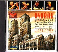 DVORAK -Symphony No 9 -American Suite CD -LIBOR PESEK -W.Germany (RLPO)