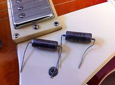 Pair .022uf .015uf 400V Vintage NOS Russian PIO K40Y-9  LP Tone Capacitors