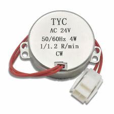 New Listingtyc 50hz Synchronmotor Ccw Amp Cw 4w Ac 24v Synchron Synchronous Motor 112 Rmin