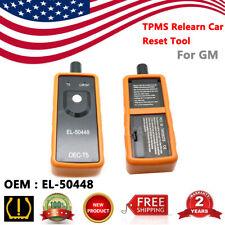 EL-50448 TPMS Relearn Car Reset Tool OEC-T5 Tire Pressure Monitor Sensor For GM