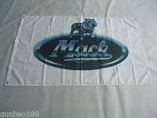 New Flag for MACK Truck Car Racing Banner Flags 3x5ft 90x150cm White