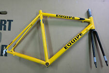 The lightweight ALU road frame and fork EQUIPE extralite doublebutted 52-54cm