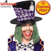 AC88 Deluxe Oversize Mad Hatter Alice in Wonderland Costume Jumbo Hat Leg Avenue