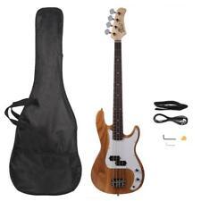 Glarry GP E-Bass Elektrobass Bass Gitarre Bassgitarre 4 Saiter mit Tragetasche