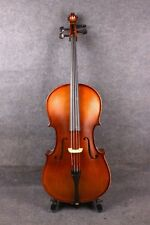 cello 4/4 new handmade Top grade maple wood Spruce bony Powerful Sound#010