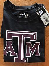 Adidas Men's The Go-To Tee Texas A&M T-Shirt, Black, Maroon Logo, XXL